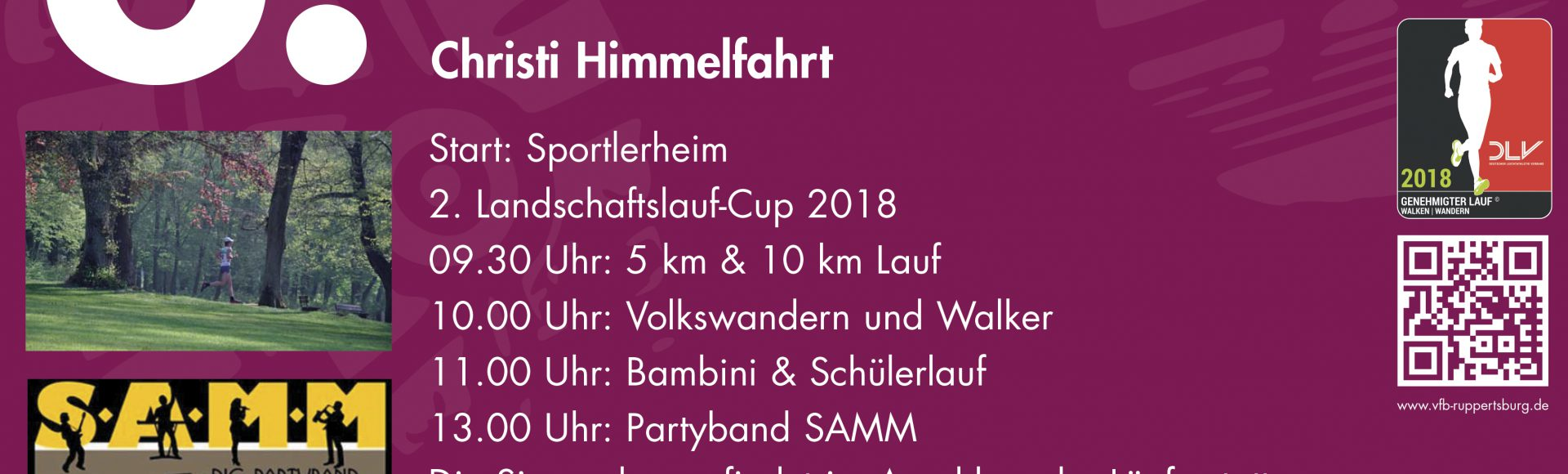 8.  Ruppertsburger Volkslauf am 10.05.18